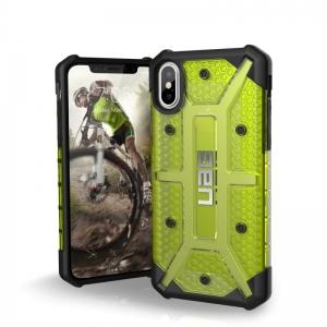 UAG - iPhone XS Plasma Case- Citron   Black   Silver