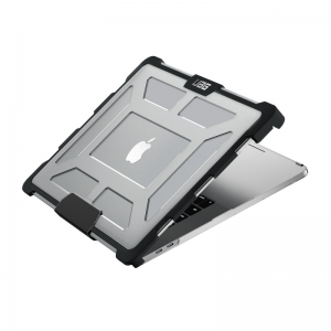 Urban Armor Gear Macbook Pro 15 inch (4th Gen) with Touchbar-Ice/Black-Visual Pack