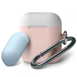 Elago Airpods Duo Hang Case -  Pastel Blue