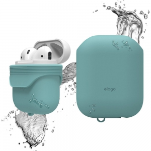 Elago Airpods Waterproof Case - Coral Blue