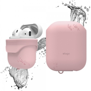 Elago Airpods Waterproof Case - Lovely Pink