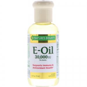 Nature's Bounty - Vitamin E-Oil - 30,000 IU 2.5 fl oz (74 ml)