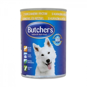 Butcher's Rice Recipe with Chicken & Rice Pate - 390g