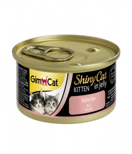 Gimcat Shinycat Kitten Chicken 70g