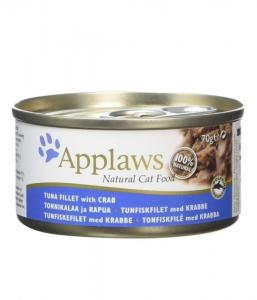 Applaws Cat Tin Tuna & Crab 70g