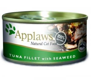 Applaws Cat Tin Tuna With Seaweed 70g