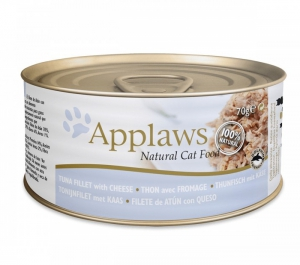 Applaws Cat Tin Tuna With Cheese 70g