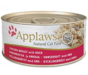 Applaws Cat Tin Chicken & Duck 70g