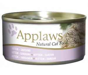Applaws Kitten Tin Fish Sardine 70g