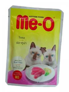 PCG - Me-O Pouch Kitten Food Tuna In Jelly - 80G