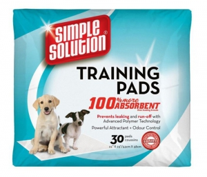 Simple Solution Puppy Training Pads 30