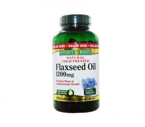 Nature's Bounty - Flaxseed Oil 1200 mg -  200 Softgels