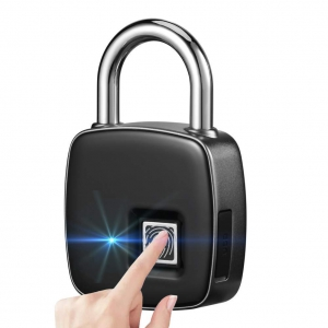 Smart Fingerprint Lock With Long Standby Time & USB Charging For Traveling  Gym Office Cabinet Box