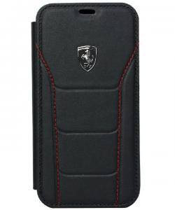 Ferrari Heritage - Genuine Leather Hard Case For iPhone XS MAX - 488