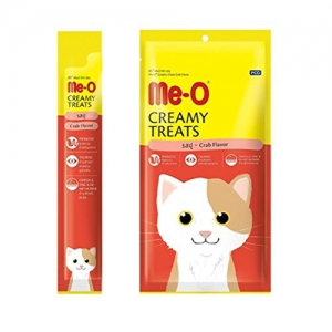PCG - Me-O Creamy Cat Treats Crab - 15g x 4