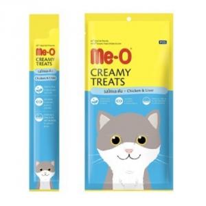 PCG - Me-O Creamy Cat Treats Chicken & Liver - 15g x 4