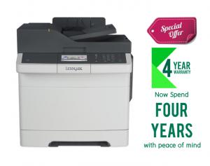 Lexmark CX417DE Color All-in-One Laser Printer