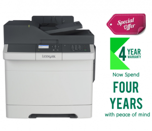 Lexmark CX317DN Color All-In-One Laser Printer