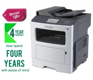 Lexmark MX417DE Monochrome All-in One Laser Printer