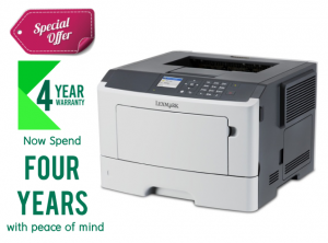 Lexmark  MS417DN Compact Laser Printer -  Monochrome
