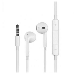 Devia Smart Earpods With Remote & Mic - B0406-WH