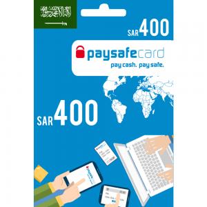 Paysafecard Digital Card KSA - SAR 400