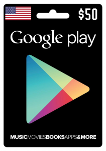 Google Play Gift Cards $50