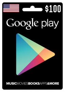 Google Play Gift Card $100
