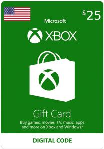 Xbox $25 Virtual Gift Card