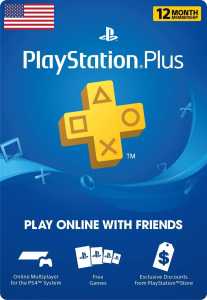 PlayStation Network ( PlayStation Plus: 12 Month Membership ) Virtual Gift Card