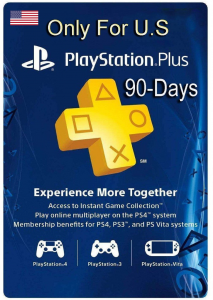 PlayStation Network ( PlayStation Plus: 3 Month Membership ) Virtual Gift Card