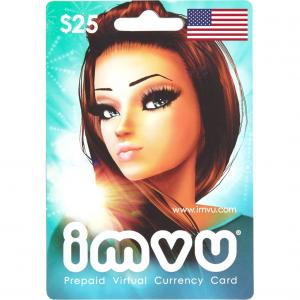imvu $25 Virtual Gift Card