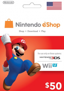 Nintendo eShop $50 Virtual Gift Card