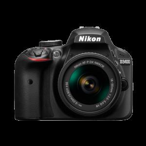 Nikon D3400 24.2 MP Digital SLR Camera - Black