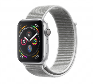Apple Watch Series 4 GPS 44mm Silver Aluminium - Seashell Loop
