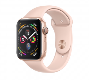 Apple Watch Series 4 GPS 44mm Gold Aluminium - Pink Sport Band