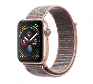 Apple Watch Series 4 GPS 44mm Gold Aluminium - Pink Sand Sport Loop