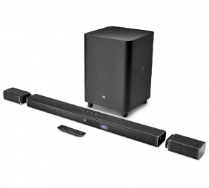 JBL Bar 5.1 Channel Soundbar Wireless Speaker - BAR51BLK