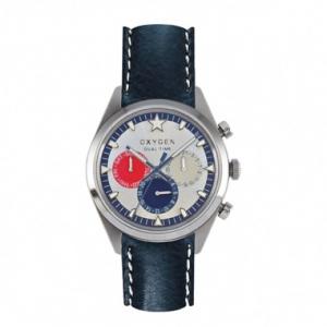 Oxygen Sport Dual L Island 40 Nvy/Rd/Ivory Watch