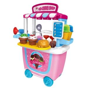 Cute Colorful Kids Simulation Barbecue Ice Cream Shop
