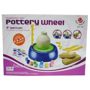 DIY Pottery Wheel Workshop Kit for Kids