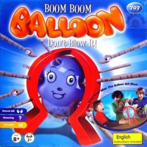 Boom Boom Balloon Board Game