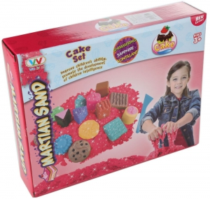 Martian Sand Game for Kids - Pink