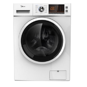 Midea 12Kg Front Load Washer & Dryer , White