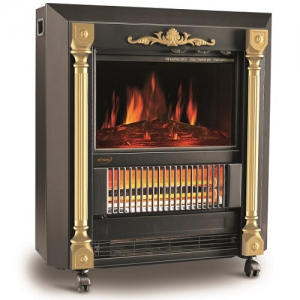Orca Classic Fireplace Electric Heater - 2000W