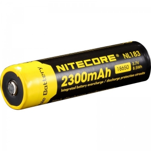 Nitecore Li-ion 18650 Rechargeable Battery - 2300mah