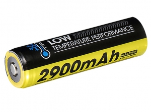 Nitecore Low-temperature Resistant High-performance Battery 18650-NL1829LTP-2900mah