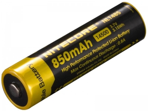 Nitecore Rechargeable Lithium Ion Battery-850Mah