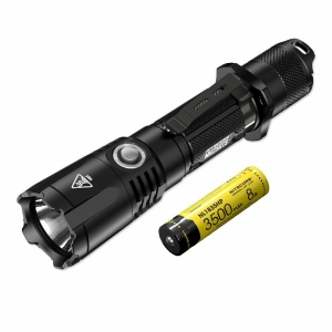 Nitecore MH25GTS 1800 LM Rechargeable Tactical Flashlight - Black