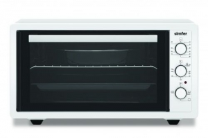 Simfer Microwave Oven - 45Litres - Grill - White